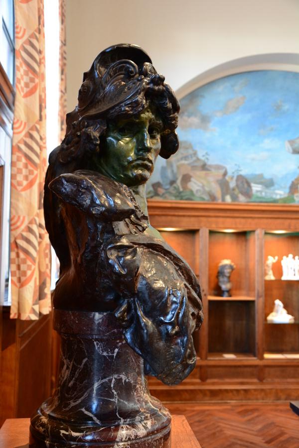 Bellona bust at Philadelphia's Rodin Museum.