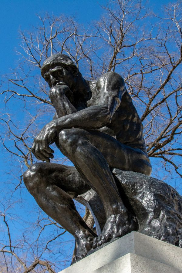 The Thinker at the Rodin Museum in Philadelphia.
