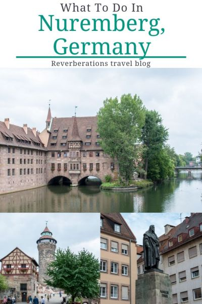 Full of history, art, and delicious food, Nuremberg, Germany should be on your travel itinerary. Here's what to do in Nuremberg, Germany! #nuremberg #germany #travel #bavaria