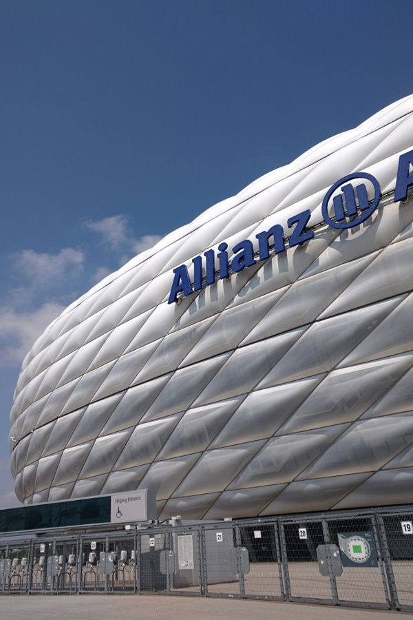 Allianz Arena is home to FC Bayern München.