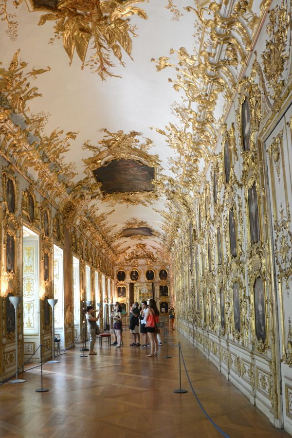 Ancestral Gallery at the Residenz Munich in Germany.