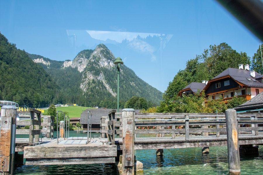 The dock in Berchtesgaden along the Königssee.