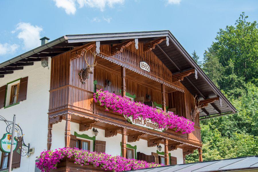 Hotel Königssee in Berchtesgaden.
