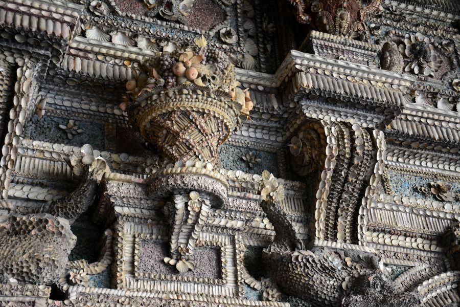 Shell Room at the Residenz Munich in Germany.
