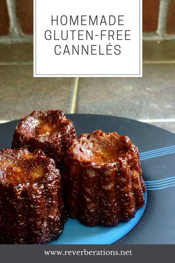 The delicate but fancy French pastry the cannelé is delicious. But traditionally they contain flour. How about a gluten-free cannelés recipe to try at home!