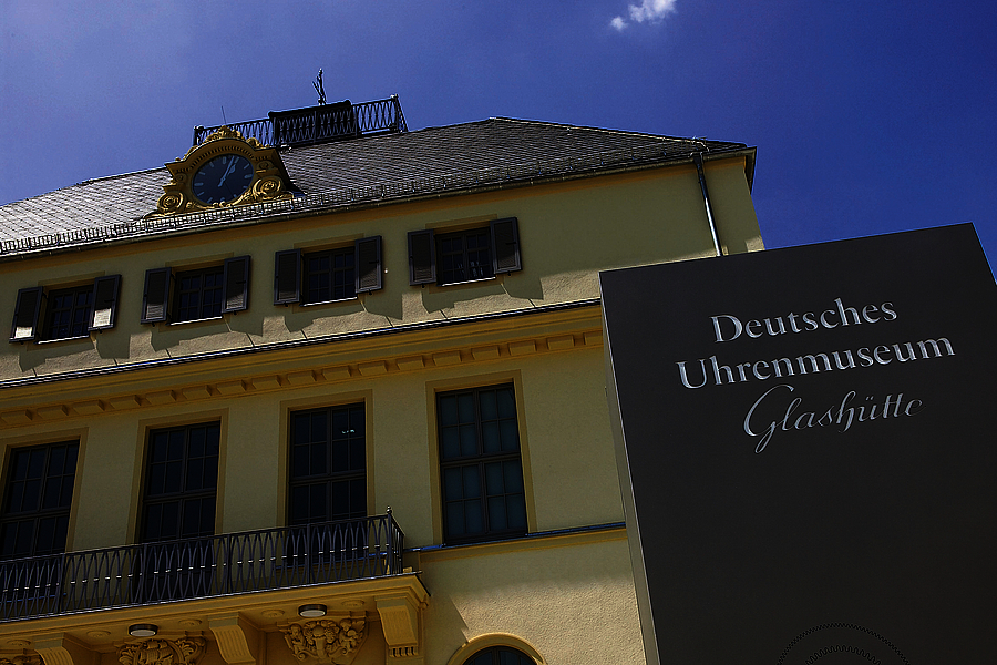 The Deutsches Uhrenmuseum (German Watch Museum) in Glashütte.