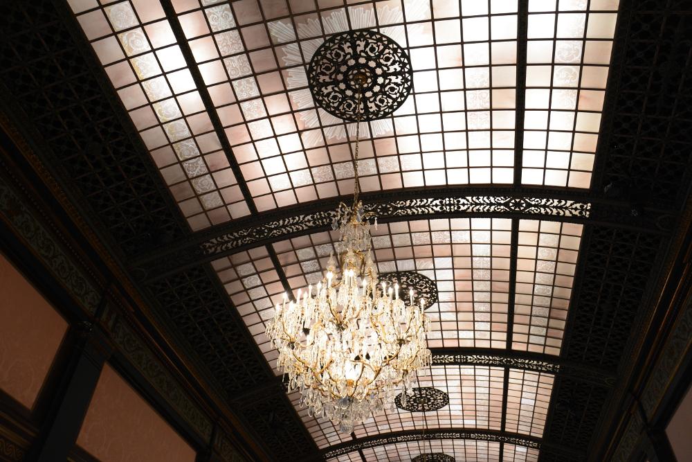 ballroom ceiling longwood gardens