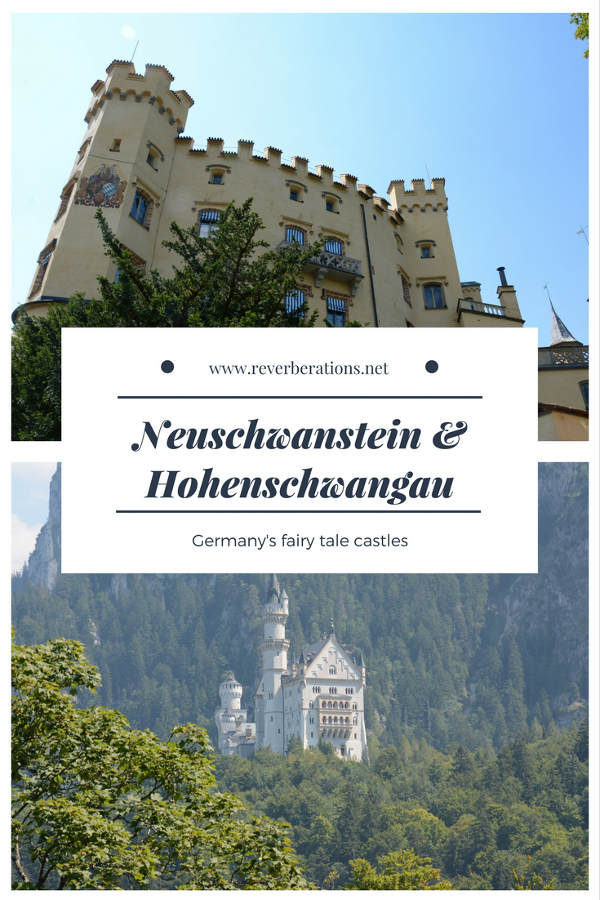 Neuschwanstein is perhaps the most famous castle in the world. No visit to Bavaria is complete without a stop at Neuschwanstein and nearby Hohenschwangau. Learn more on Reverberations.net!