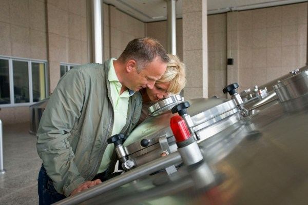 Tour the Radeberger brewery.