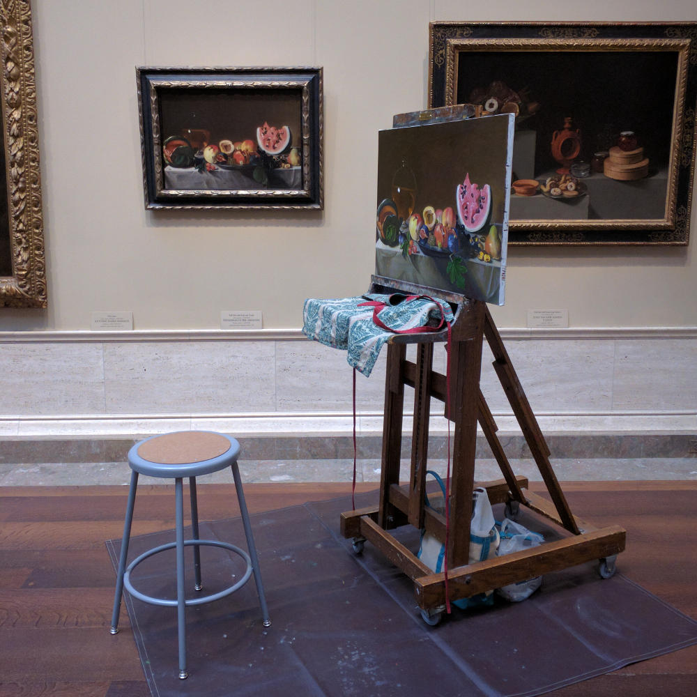 National Gallery of Art's copyist program. More on how to spend your day in Washington, D.C. on Reverberations.