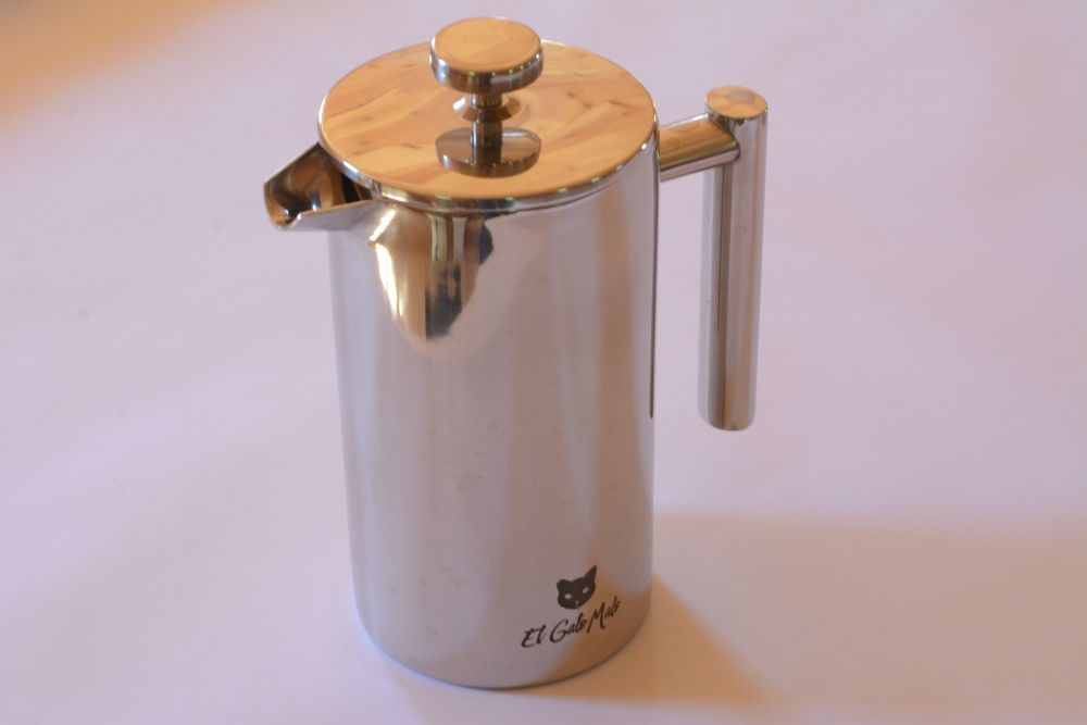 Brewing Tea with a French Press using the El Gato Malo French Press!