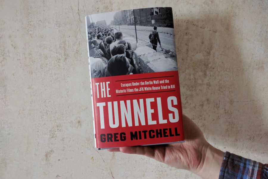 greg mitchell the tunnels berlin wall book