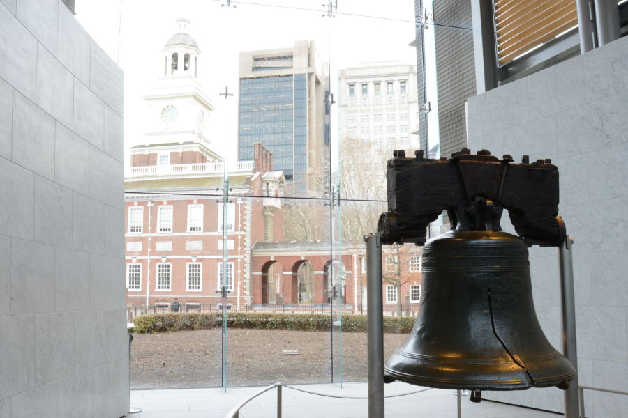 Philadelphia's Liberty Bell is a must see.