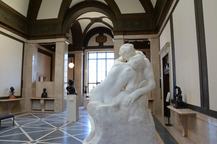 The Rodin Museum in Philadelphia should be on every walking tour.