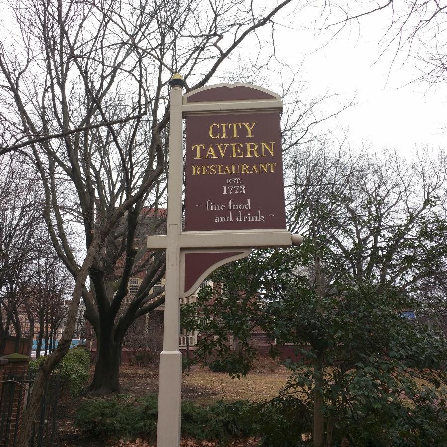city tavern restaurant in Philadelphia