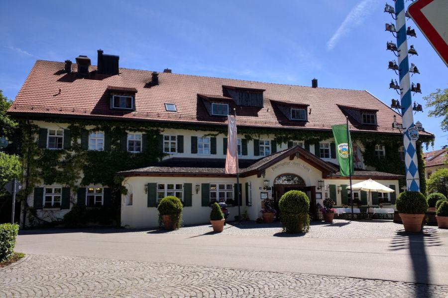 The Brauereigasthof Hotel Aying.