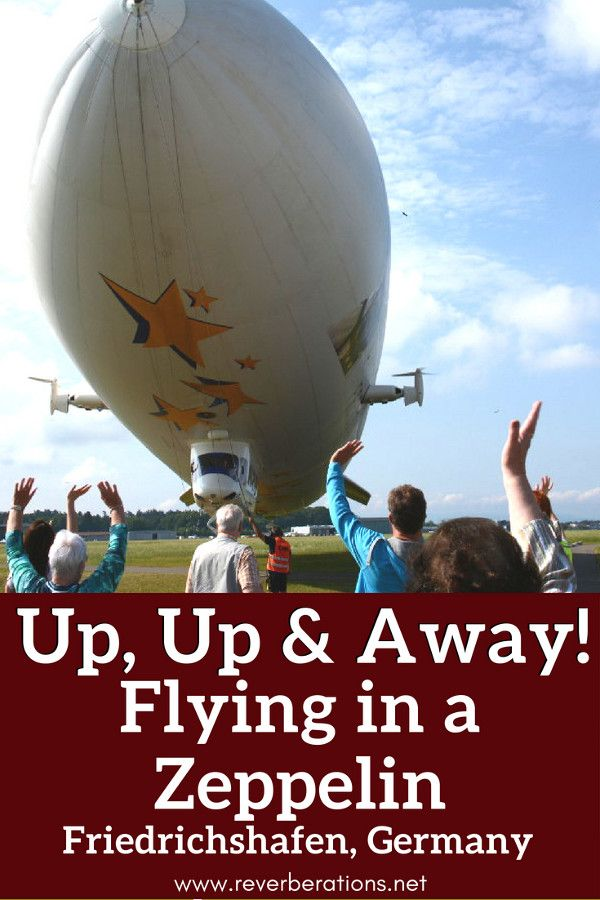 Looking for once in a lifetime adventure? Try a flight in a Zeppelin! All the inside details of going for a Zeppelin flight in Friedrichshafen, Germany. #zeppelin #adventure #friedrichshafen #germany