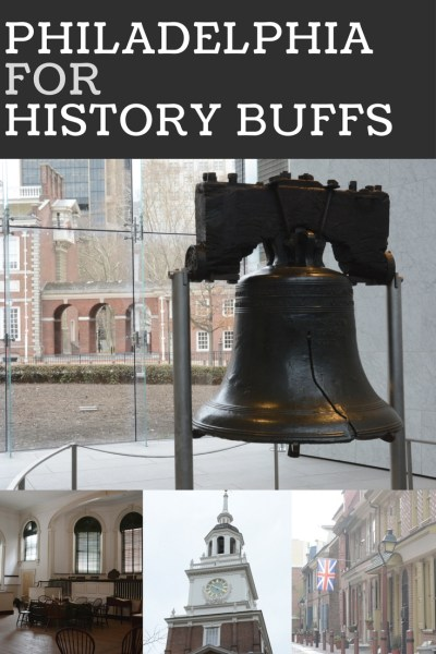 Guide & itinerary for a day in Philadelphia for history buffs. Full of history, the city played an important part in the founding of the United States. #philadelphia #philly #visitphilly #visitpa #pennsylvania #travel #history