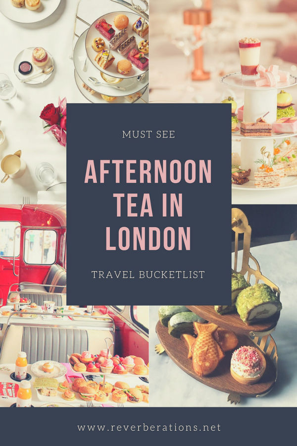 Fancy a cuppa? 5 spots for Afternoon Tea in London, England on Revberations.