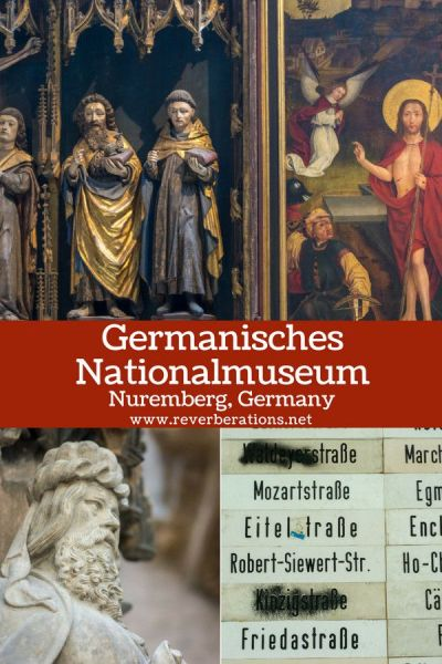 Germanisches Nationalmuseum in Nuremberg, Germany is the largest museum of arts and culture in the German-speaking world. #art #museum #nuremberg #germany #travel