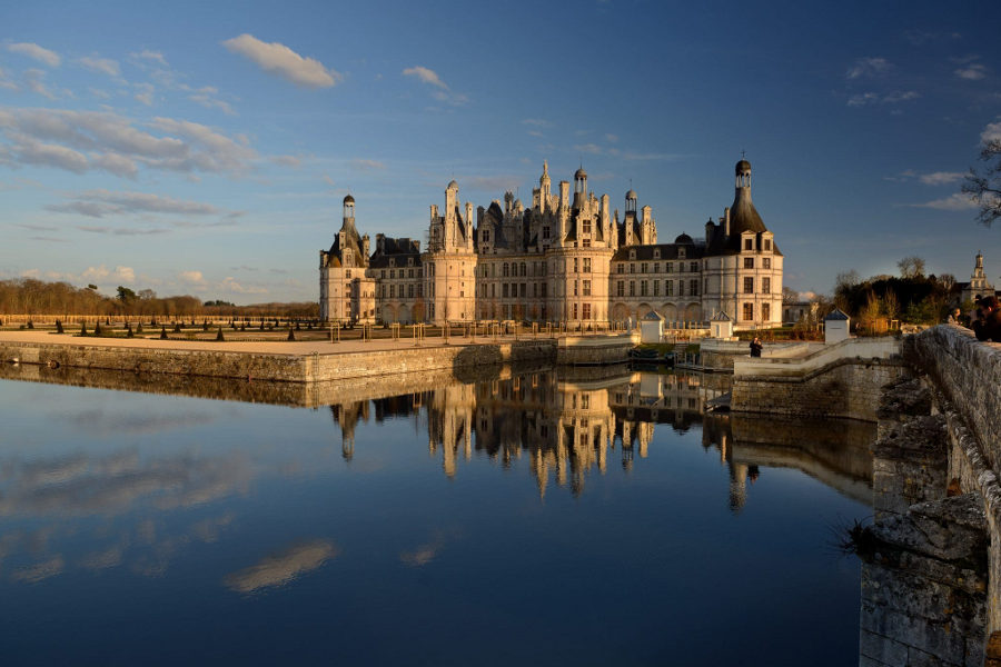 Château de Chambord in central France is a Must See castle!