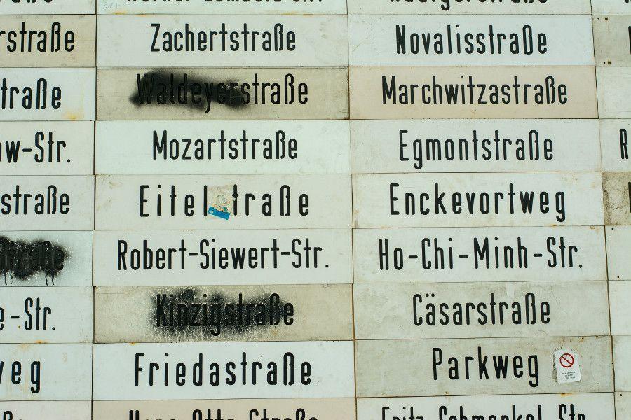 Hauptstadt by Raffael Rheinsberg at Germanisches Nationalmuseum in Nuremberg, Germany.