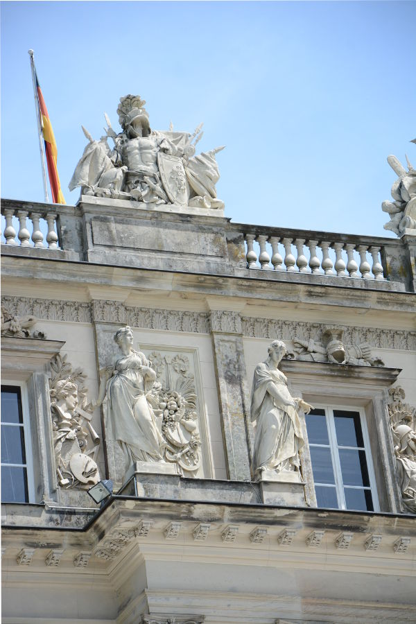 Details of the Herrenchiemsee's New Palace.