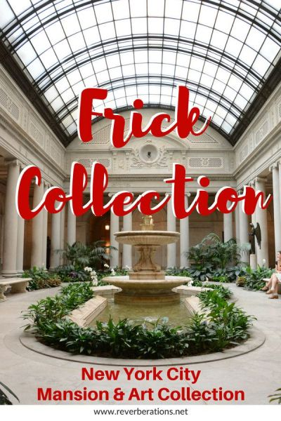 At the Frick Collection on Manhattan's Upper East Side visitors can tour an impressive mansion turned art museum thanks to Henry Clay Frick and his spectacular art collection. #art #artmuseum #museum #nyc #newyorkcity #manhattan #uppereastside