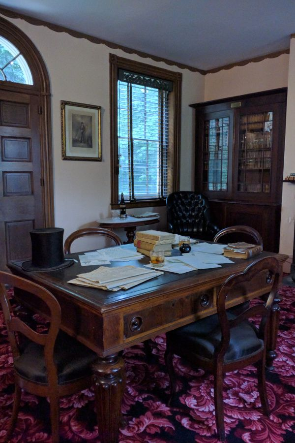 President James Buchanan's office at Wheatland.