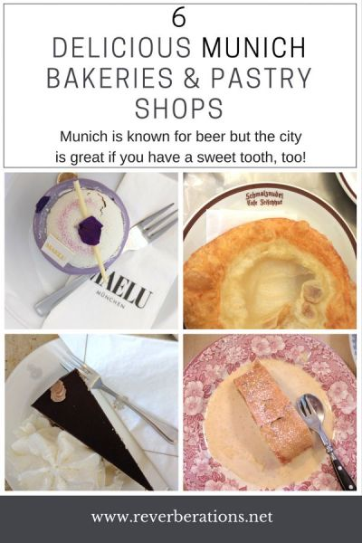 6 delicious Munich bakeries and pastry shops! Munich is known for beer but the city is great if you have a sweet tooth, too! #munich #bavaria #germany #foodie #bakery #sweets #travel