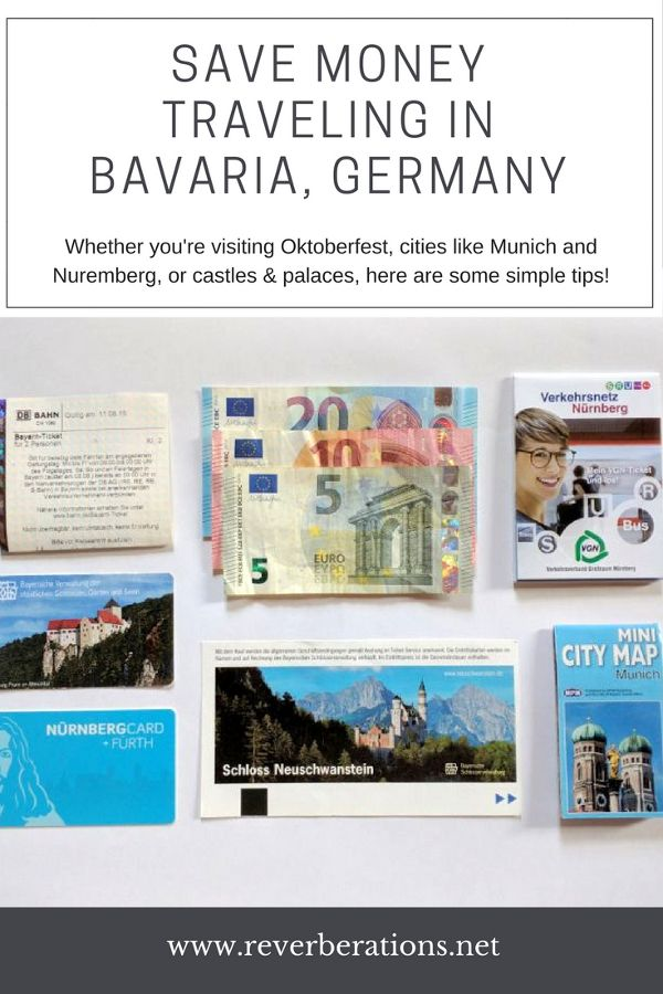 Save money traveling in Bavaria, Germany with these simple tips! #bavaria #germany #travel #traveltips