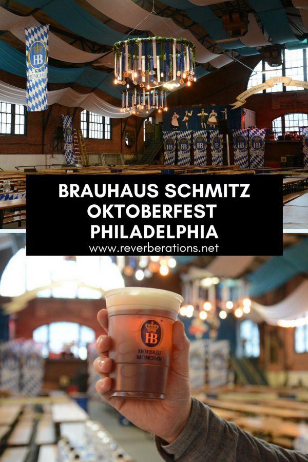 Prost! Brauhaus Schmitz Oktoberfest at the 23rd Street Armory in Philadelphia.