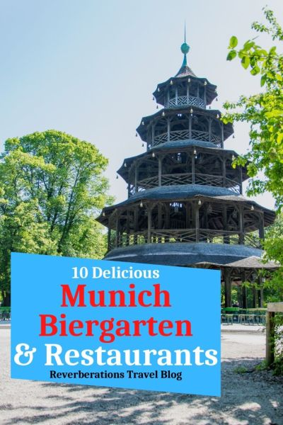 Enjoy traditional Bavarian food and Munich beer at these 10 great Munich restaurants, including popular Biergarten in Munich and some lesser-known. #munich #germany #bavaria #food