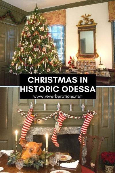Christmas in Historic Odessa, Delaware captures all of the charm and tradition of the holiday season. Take in the historic homes and festive decorations!