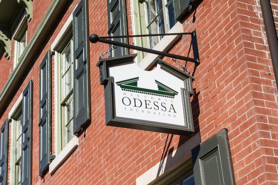 Historic Odessa in Delaware.