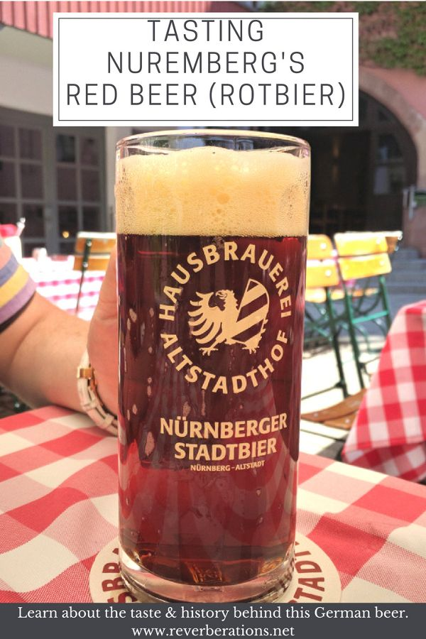 Get a taste of Nuremberg, Germany's Red Beer (Rotbier)!