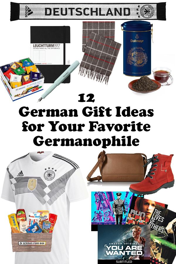 12 German gift ideas for your favorite Germanophile!