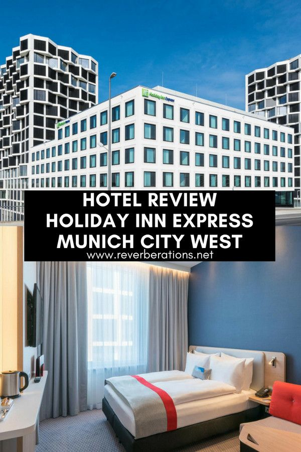 Hotel review of the Holiday Inn Express Munich City West where you can avoid the downtown hustle and feel like a local with a convenient location, comfortable room and affordable prices. #munich #germany #hotel