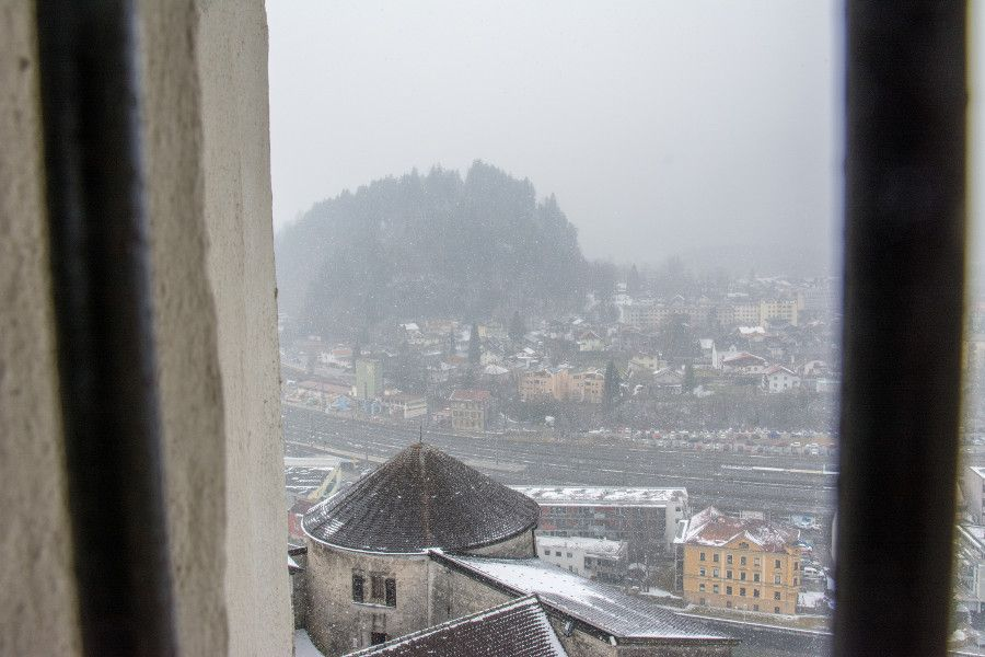 The view from Festung Kufstein in Austria.