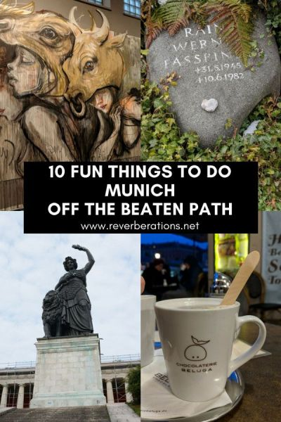Munich is one of Germany's most popular cities for tourists but there's more than Oktoberfest to this cosmopolitan city. From lesser known museums to meals and shopping, here are ten fun (and unique!) things to do in Munich off the beaten path. #munich #bavaria #germany