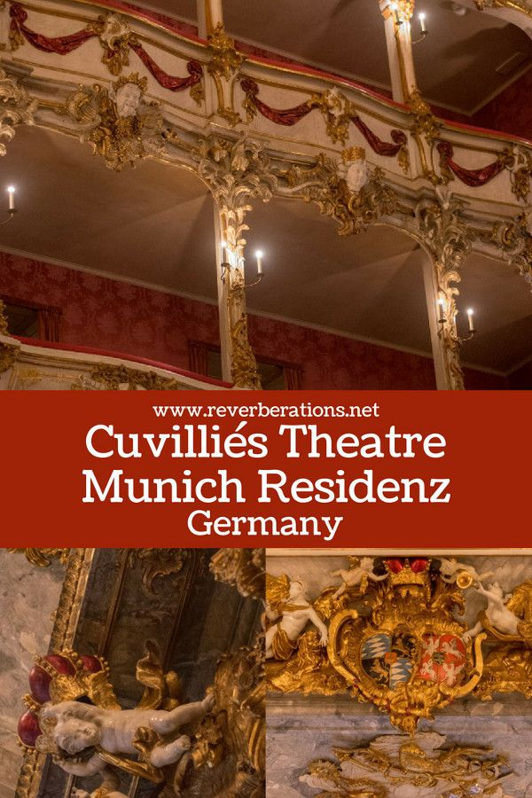 Mozart, Salieri, and Metastasio are just of the few distinguished names in the history of music who debuted world premieres on the stage of the Cuvilliés Theatre at Munich's Residenz. Travel guide for visiting the historic and beautiful Cuvilliés Theatre. #munich #bavaria #germany #travel