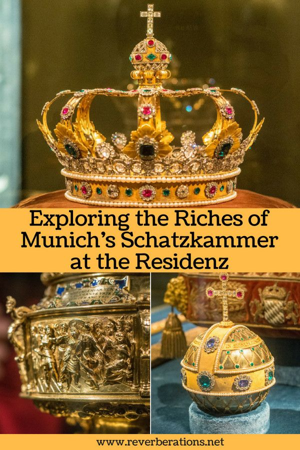 The Schatzkammer or Treasure in Munich's Residenz is full of priceless jewels and masterfully crafted objects. Here's a guide for visitors wanting to experience the riches of the Wittelsbach dynasty in person. #munich #bavaria #germany #travel