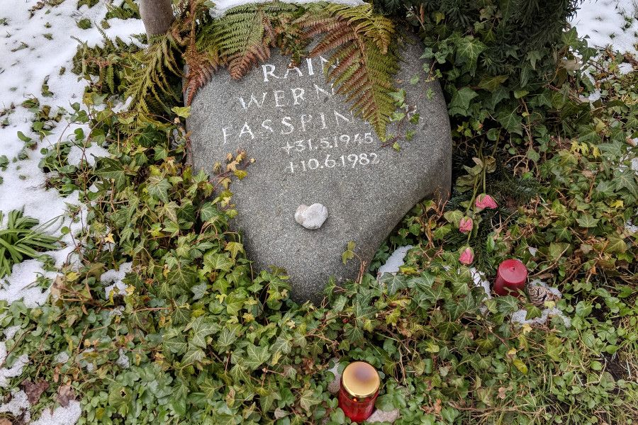 Explore Munich off the beaten path with a visit to Bogenhauser Friedhof. Filmmaker Rainer Werner Fassbinder's grave.