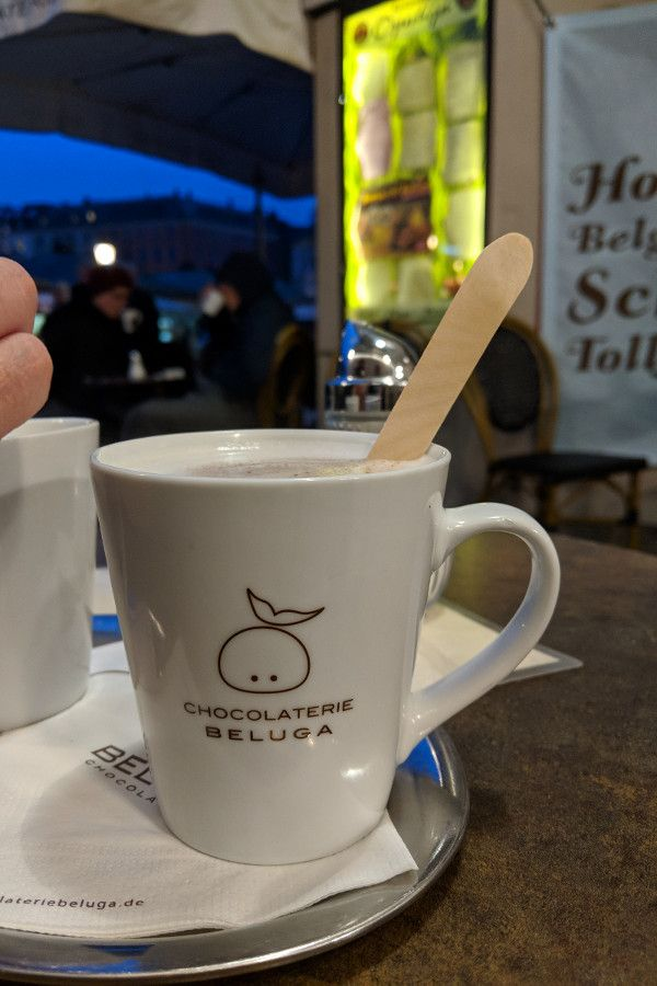 Explore Munich off the beaten path with a hot chocolate at Chocolaterie Beluga.