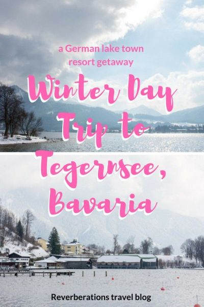 Tegernsee, Germany is both a Bavarian lake and a town. Just a short distance from Munich, Tegernsee is a great day trip for relax or outdoor activities. #tegernsee #bavaria #germany #travel