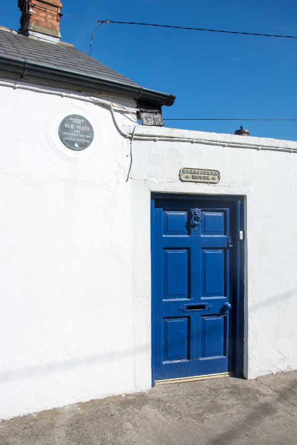 The one-time home of Irish poet WB Yeats.