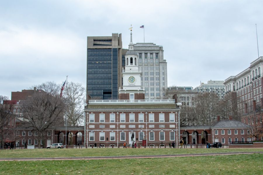 A visit to Independence Hall is one of the great free things to do in Philadelphia!