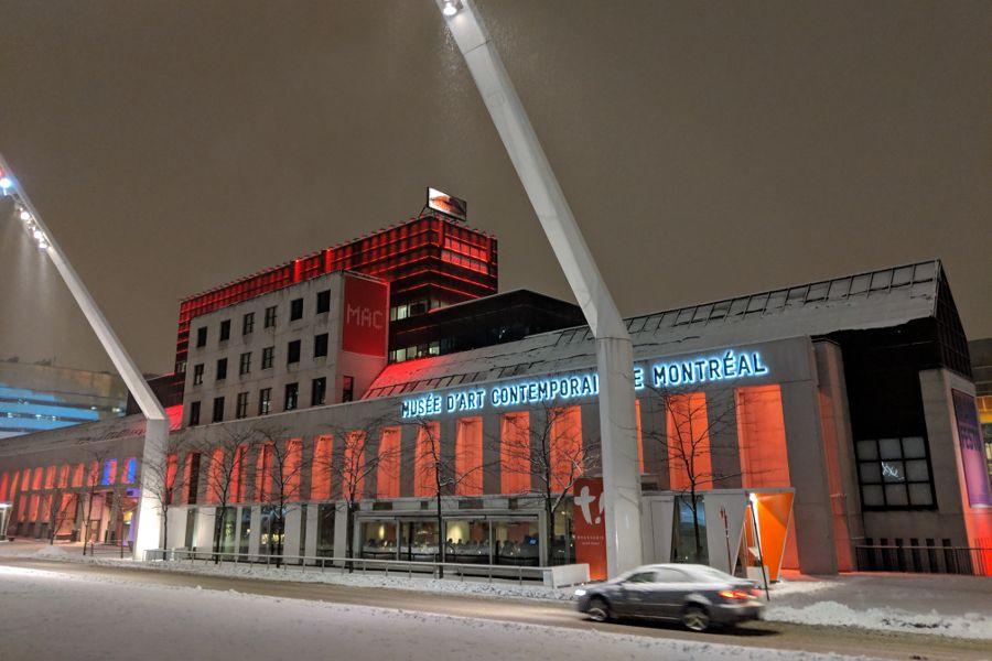 Musée d'art contemporain de Montréal (MAC) is Montreal's museum for contemporary art.