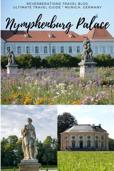 From park to palace, the ultimate travel guide with everything you need to know about Nymphenburg Palace (Schloss Nymphenburg) in Munich, Germany. #munich #bavaria #germany #palace #castle