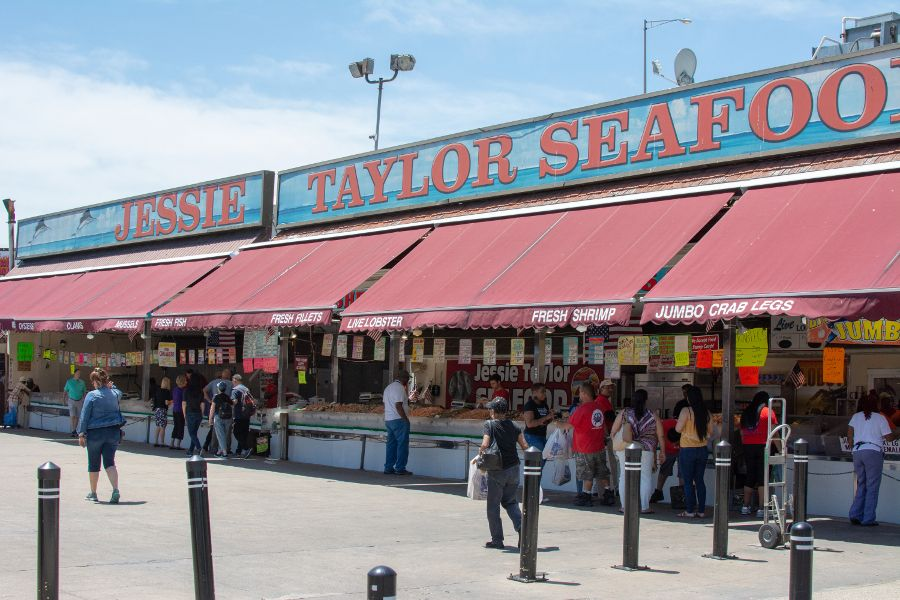 Jessie Taylor Seafood at the Main Avenue Fish Market.